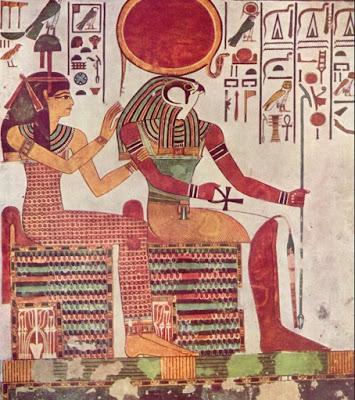 horus, ra, aureola
