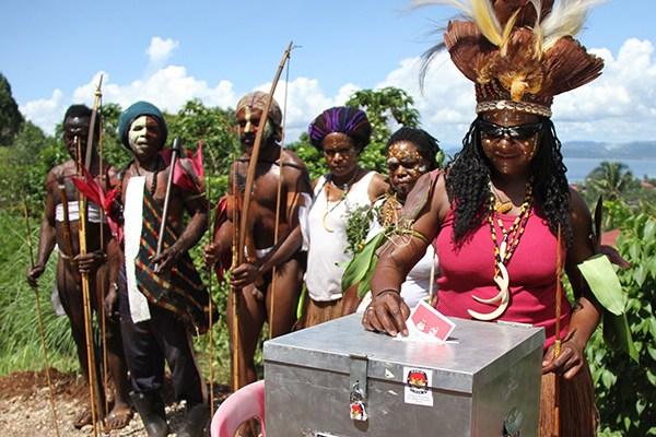 Penghitungan Suara Di Papua Barat Rawan Ricuh