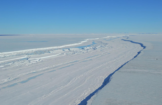 Antarctic ice shelves compromised by combined impacts of ocean and atmosphere warming