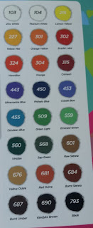 Acrylic Paint Set colors