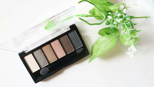 Silky Girl Truly Nude Eyeshadow Palette 01 Earthy : REVIEW