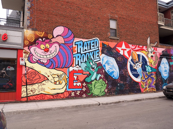 CANADA | STREET ART A MONTREAL