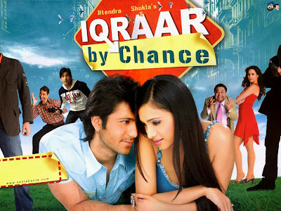 Poster Of Bollywood Movie Iqraar By Chance (2006) 300MB Compressed Small Size Pc Movie Free Download worldfree4u.com