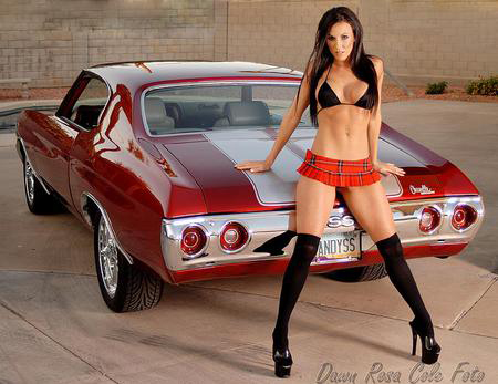Muscle Car Collection Muscle Car And Girls