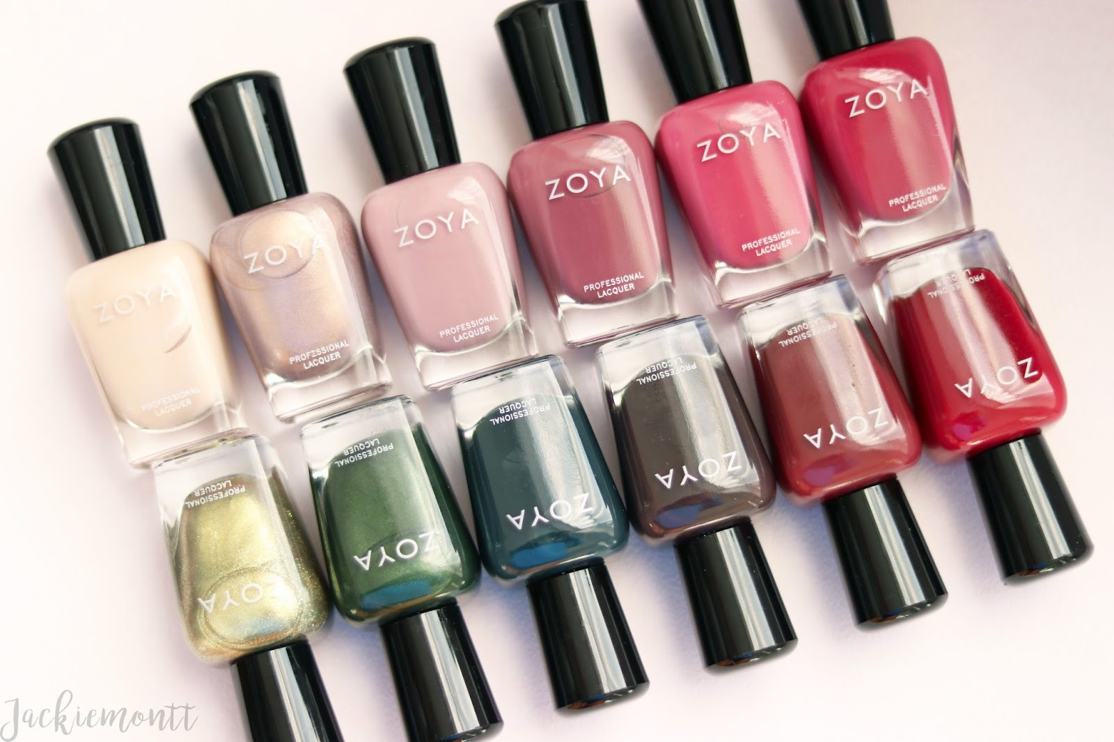 Zoya | Sophisticates Fall 2017 Collection Swatches - JACKIEMONTT