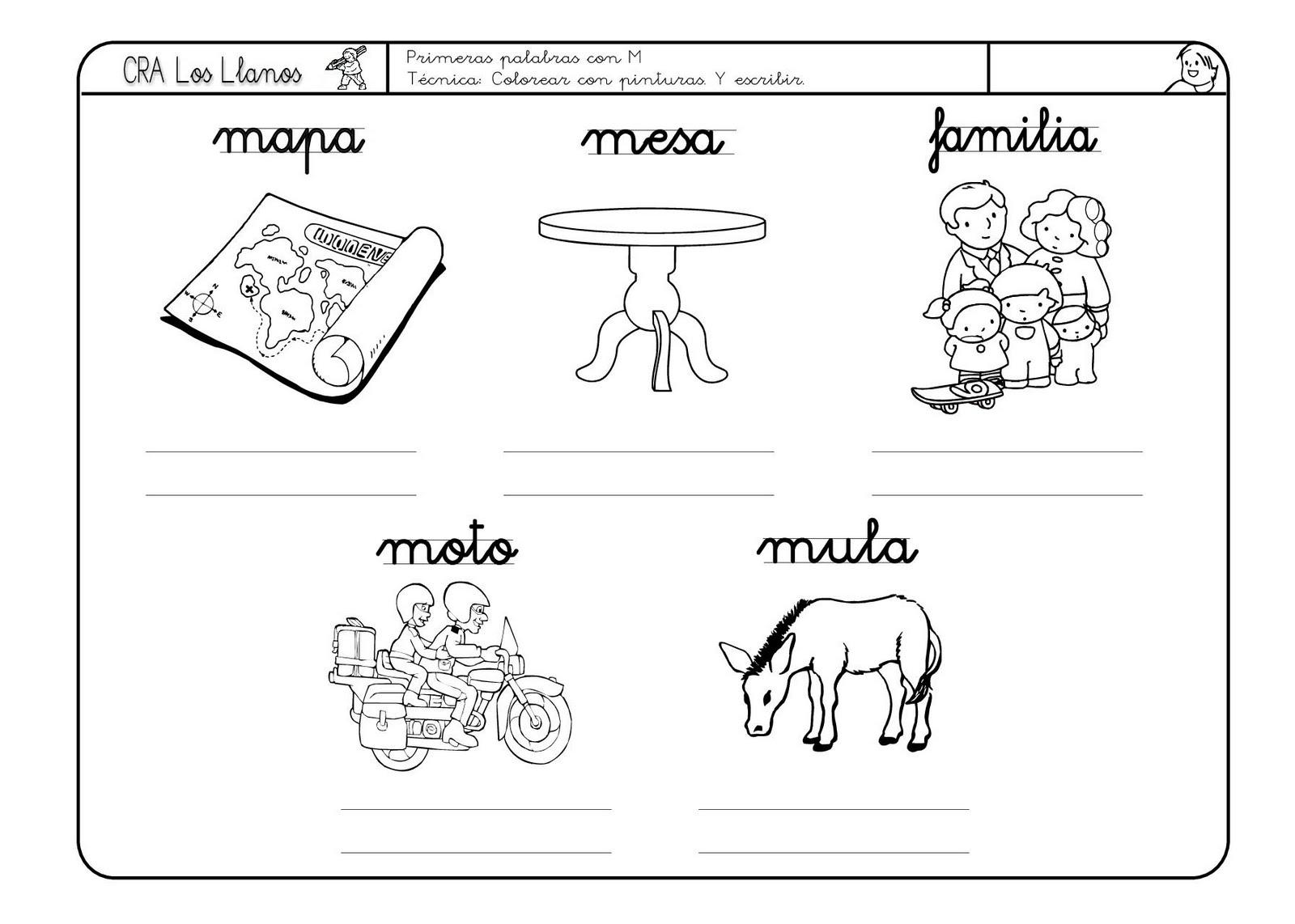 Lectoescritura En Educacion Infantil Material Refuerzo Letras
