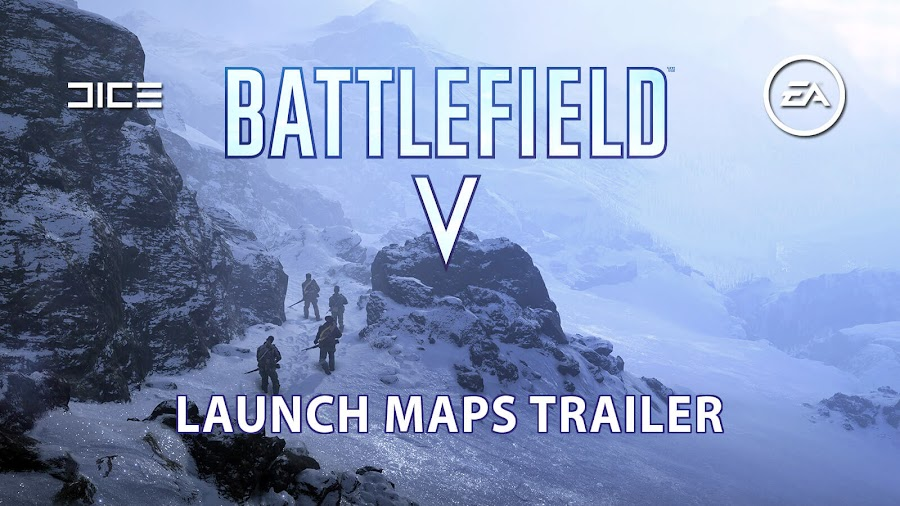 battlefield 5 multiplayer launch maps ea dice