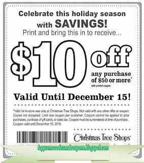 Osh christmas tree coupon