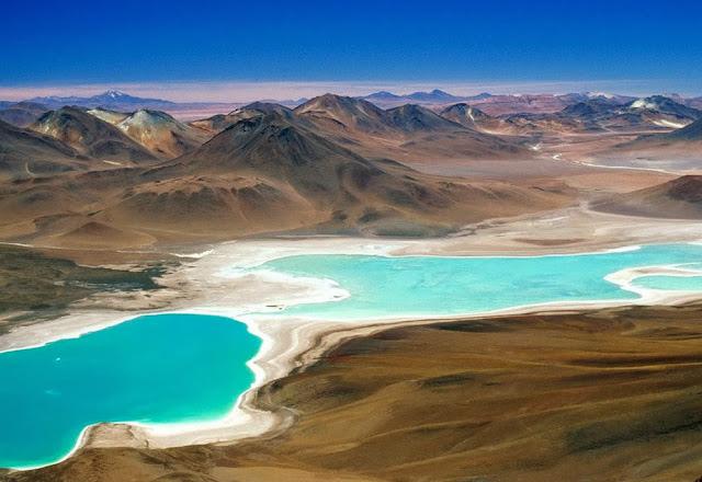 Laguna Minisques e Miscanti - Atacama - Chile