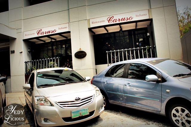 Location in Makati, Caruso Ristorante Italiano