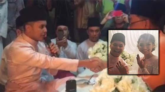 Sekitar Majlis Pernikahan Hafiz Suip Dan Isteri