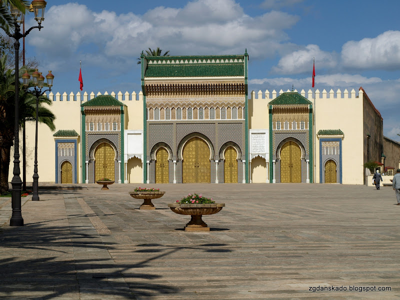 Fes - Pałac Królewski