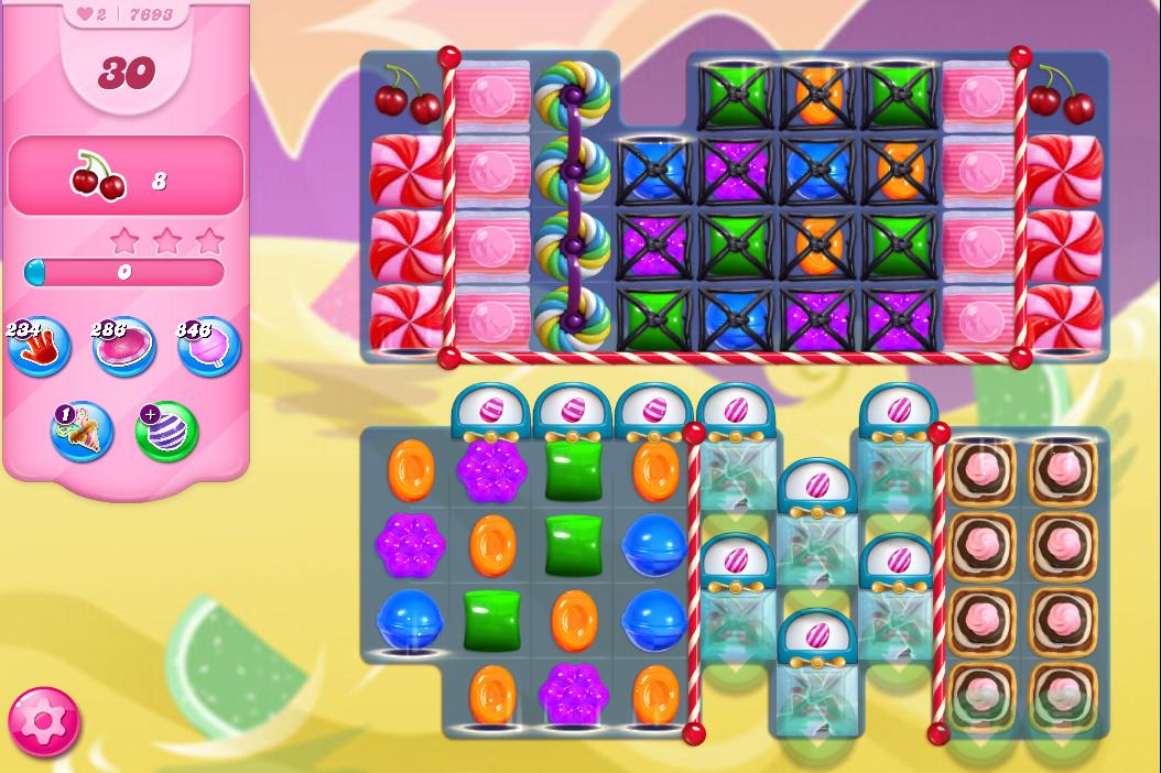 Candy Crush Saga level 7693