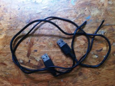Bikin Sendiri Kabel USB to USB dari Kabel Bekas