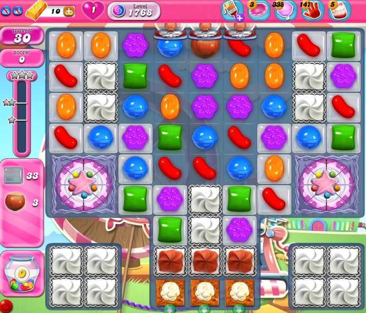 Candy Crush Saga 1768