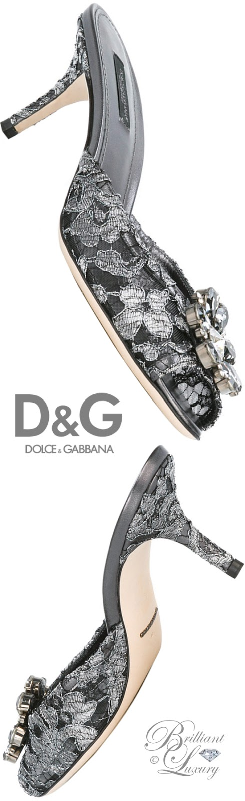 Brilliant Luxury ♦ Dolce & Gabbana Paris D'Orsay Pumps