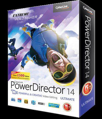 برنامج المونتاج العملاق  CyberLink PowerDirector  V14.0 Ultimate, آخر إصدار