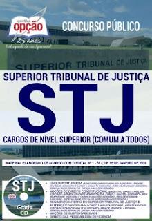 Apostila do STJ - cargos de Nível Superior
