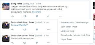 Cara Memasang Status Twitter Ke Blog