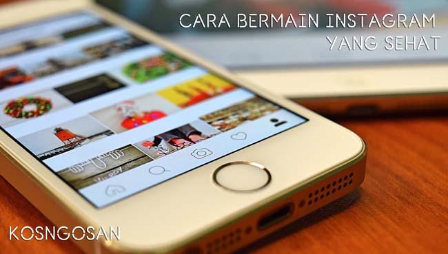 tips buka instagram