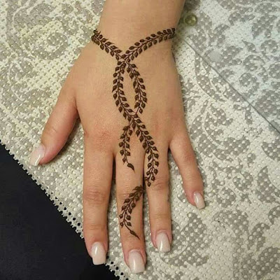 121 Simple Mehndi Designs For Hands Easy Henna Patterns With Images Bling Sparkle,Spiritual Line Art Geometric Tattoo Designs