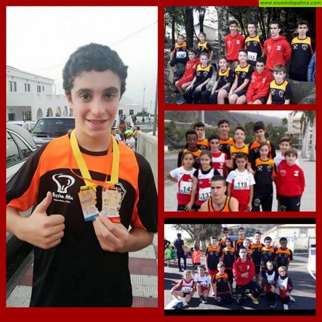 Los jóvenes atletas del C.A. Chirizo siguen cosechando triunfos