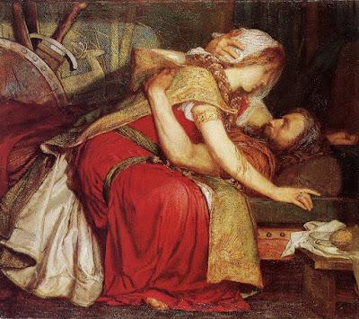 Tristram'sDeath (1902), Marianne Stokes