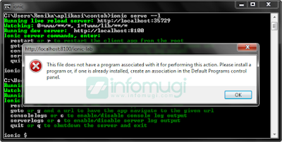 "Cara Mengatasi Error ""This file does not have a program associated with it for performing this action. Please install program or, if one is already installed, create an association in the default programs control panel."""