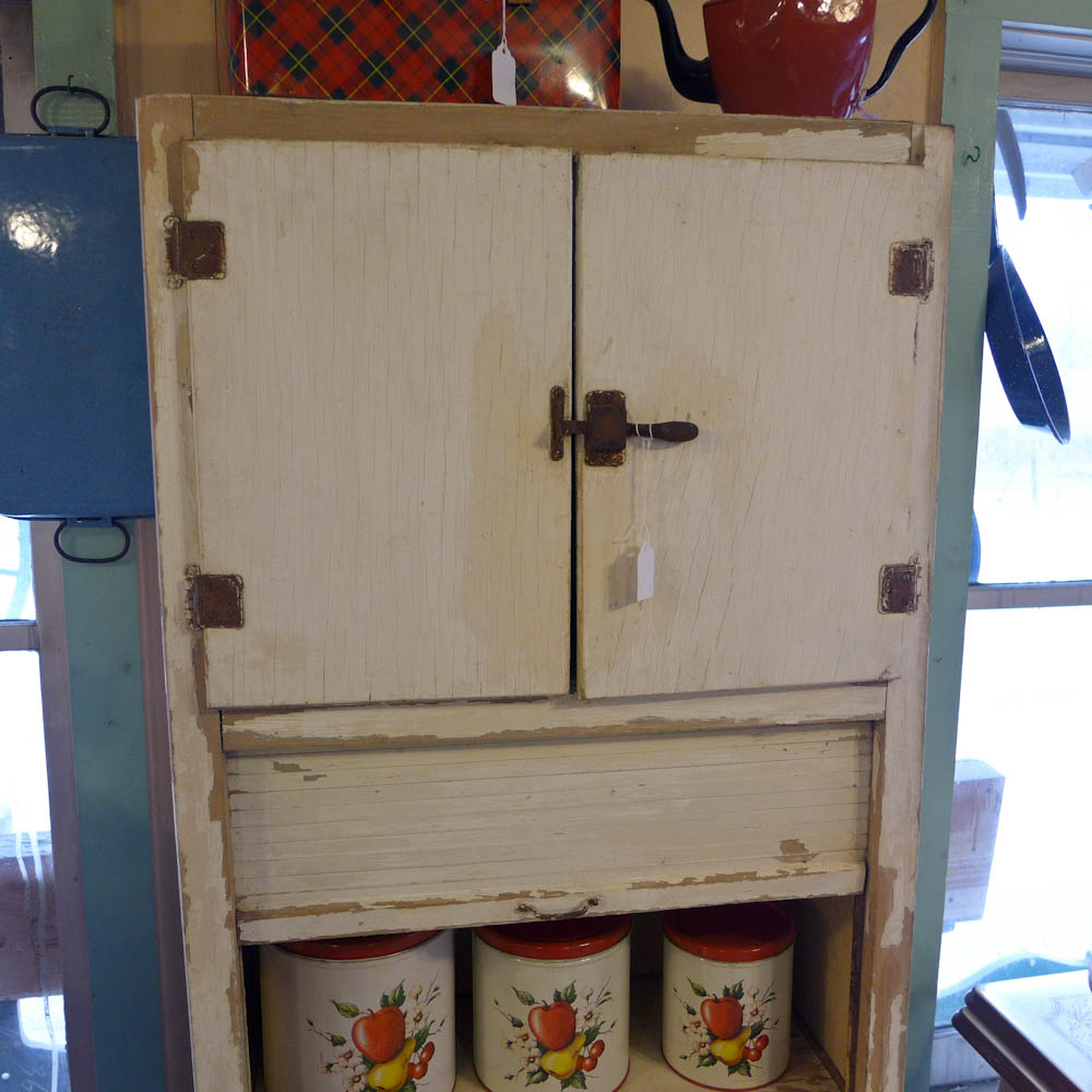 Apartment Size Hoosier Cabinet The Wildwood Flower 1930s Marsh Apartment Sized Hoosier Style Cabinet