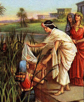 1. Pharaoh's Daughter Finds Moses