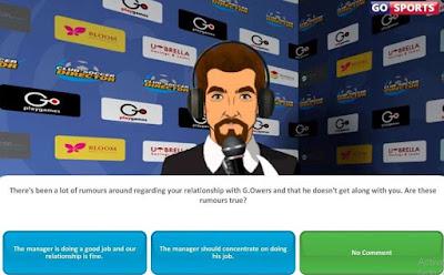 Screenshot Club Soccer Director 2019 Mod Apk