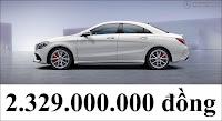 Giá xe Mercedes AMG CLA 45 4MATIC