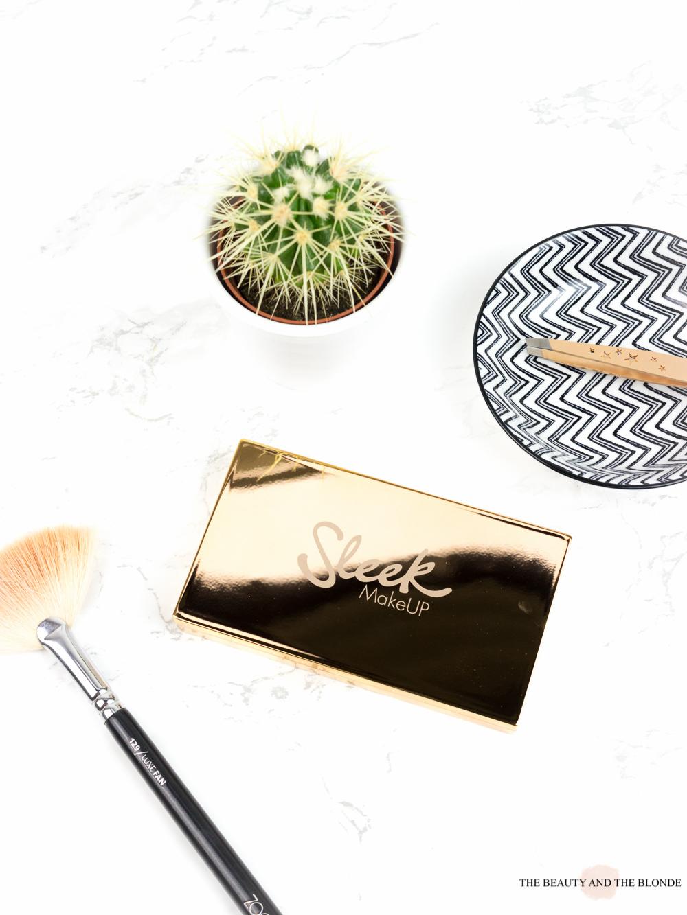 sleek solstice highlighter palette drugstore drogerie makeup review