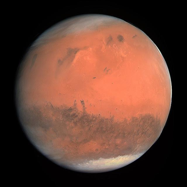 מאדים כפי שצולם מחללית רוזטה