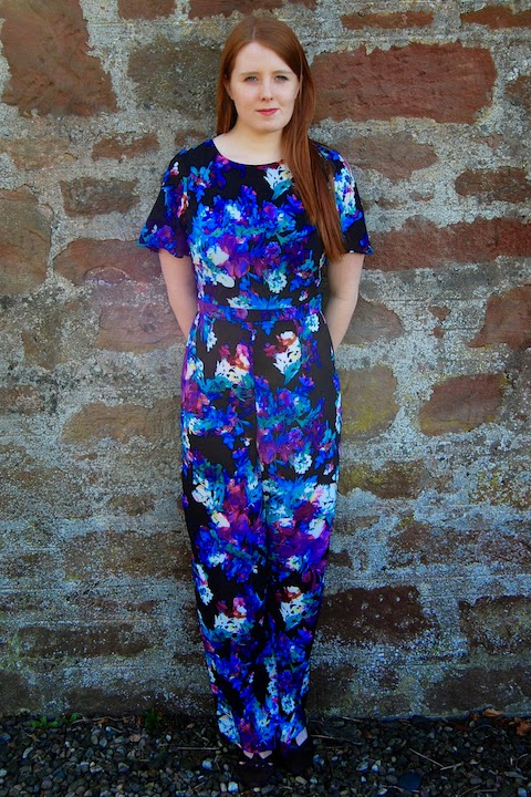 fe21660e393 G is for Gingers  A 70s Inspired Jumpsuit from Girls on Film