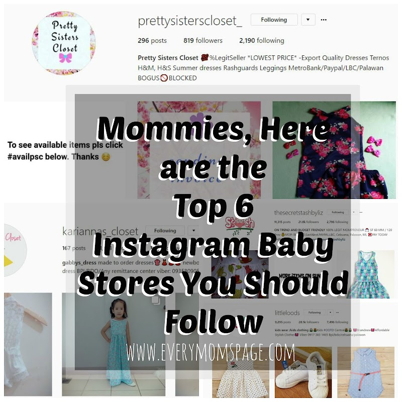 Top 6 Instagram Baby Stores You should Follow