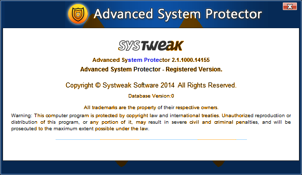 Advanced System Protector 2.1 Full Key