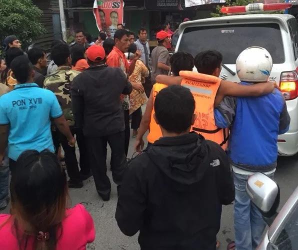 Korban selamat kecelakaan kapal Sinar Bangun