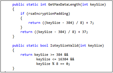 Rsacryptoserviceprovider Example