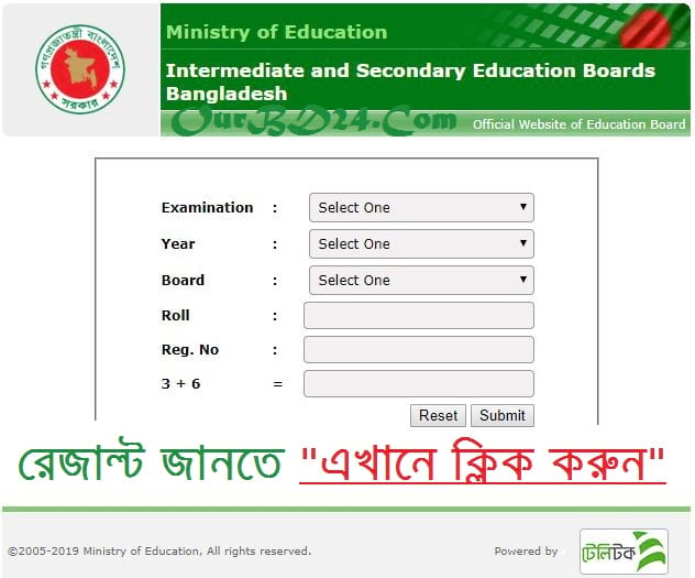 Dakhil Exam Result Madrasah Board