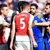Depois de confusão entre Gabriel Paulista e Diego Costa, Arsenal e Chelsea se reencontram no Campeonato Inglês