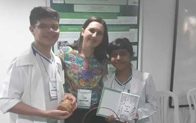 Alunos da rede municipal representam Tabuleiro no Norte na etapa Regional do Ceará Científico.