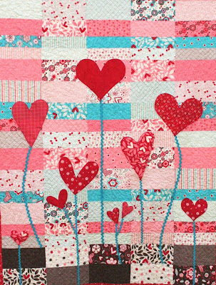 Quilt Inspiration Free Pattern Day Hearts And Valentines Amazing Heart Quilt Pattern