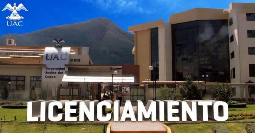 SUNEDU otorga licenciamiento a la Universidad Andina del Cusco - UAC- www.sunedu.gob.pe