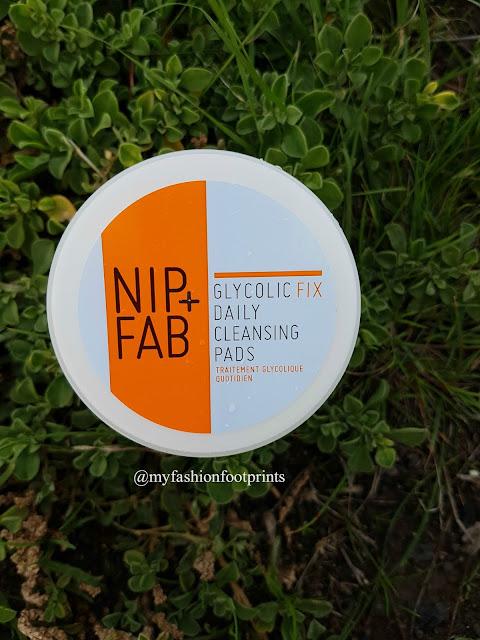 Nip+Fab Exfoliate Glycolic Fix Daily Cleansing Pads