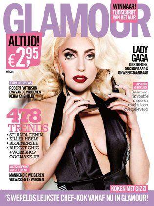 Editorialized Lady Gaga Magazine Covers