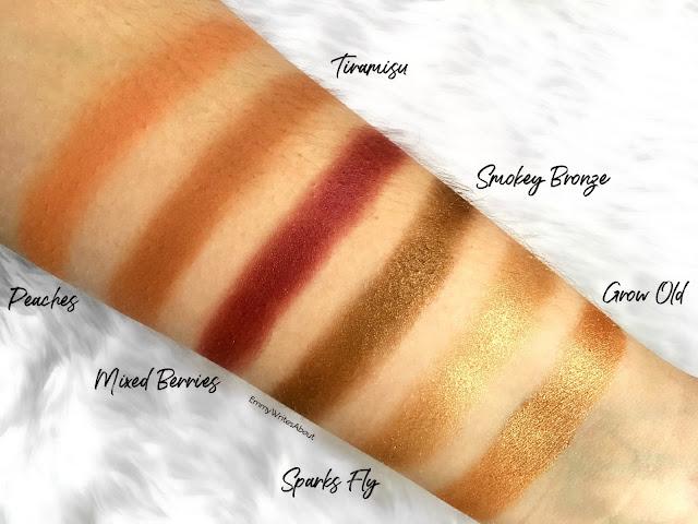 Makeup Revolution Soph X Eyeshadow Palette Swatches