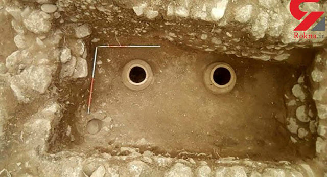 Remains of  'extremely tall man' discovered alongside ancient treasure trove in Iran