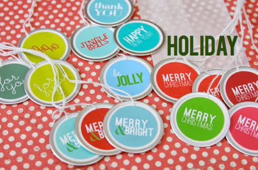 Holiday Gift Tags | iloveitall.etsy.com