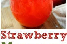 Fizzy Strawberry Margarita Punch